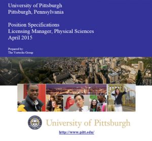 University of Pittsburgh Job Opportunity