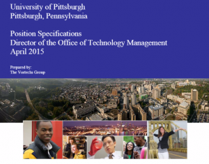 University of Pittsburgh, Director of the Office of Technology