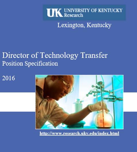 University of Kentucky Job Specification