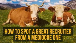 How to find a good recruiter?