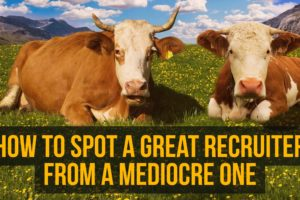 How to Spot a Great Recruiter from a Mediocre One