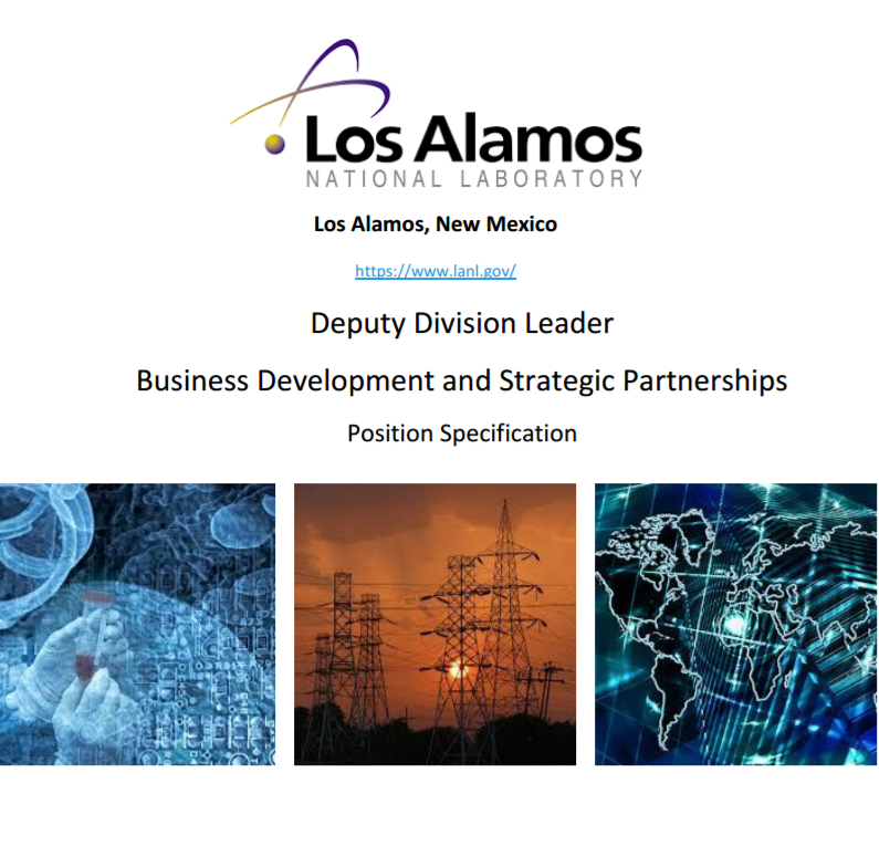 Job at Los Alamos National Laboratory