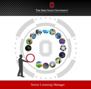 Senior Licensing Manager The Ohio State University