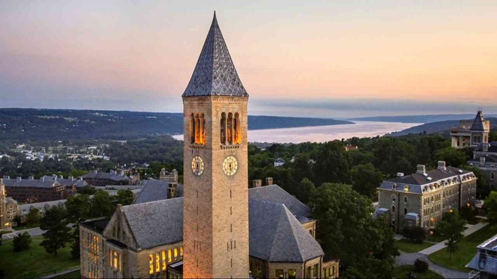 View of Cornell University, Ithaca NY